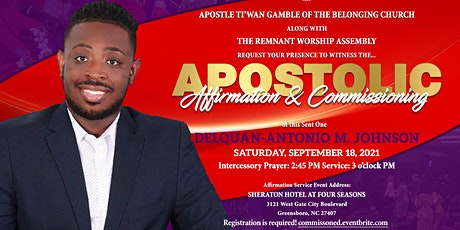 Official Church Launch and Apostolic Affirmation & Commissioning Service tickets