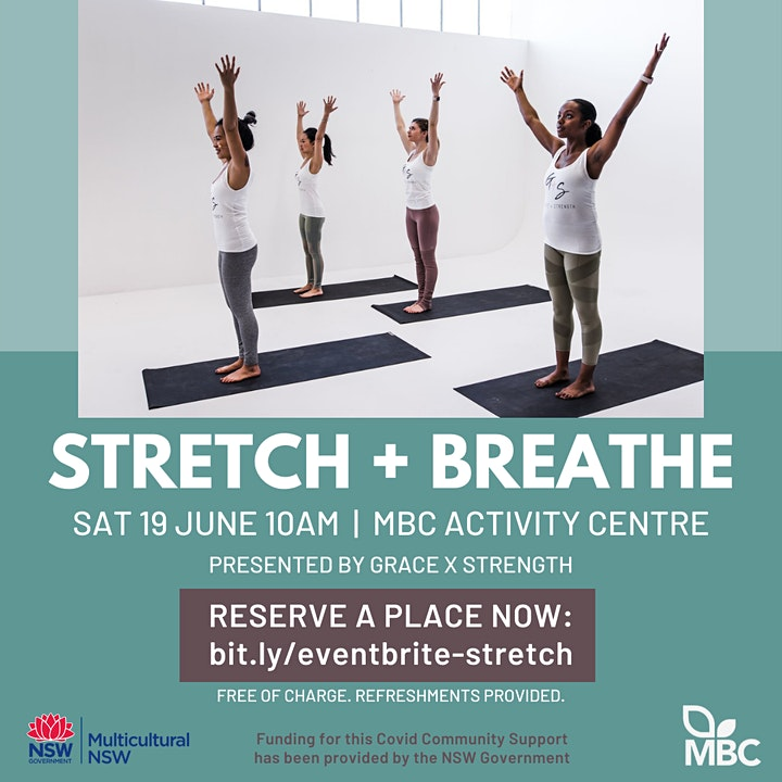 Exercise for Wellness: Stretch and Breathe image