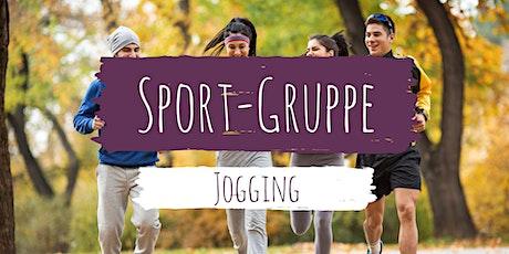 Jogging-Gruppe Tickets