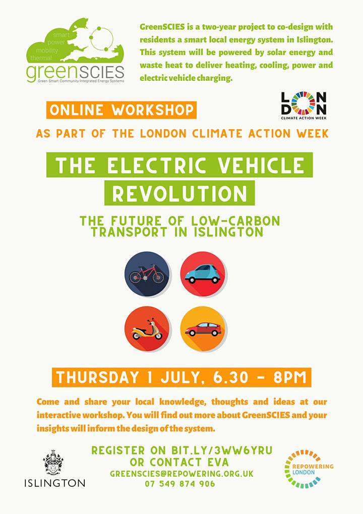 The electric vehicle revolution in Islington image