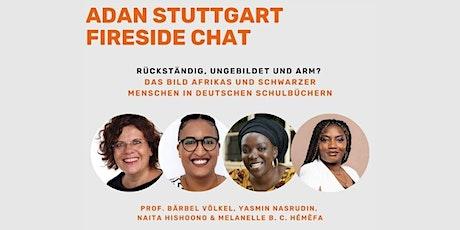 ADAN Fireside Chat zum Bild Afrikas und schwarzer Menschen in Schulbüchern Tickets