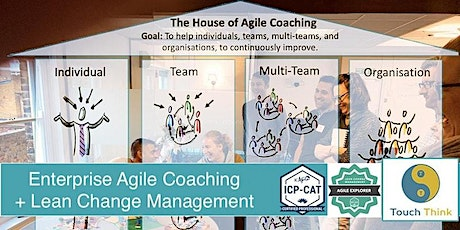 Lean Change Agent + Coaching Agile Transitions (Online, July 2021) Tickets