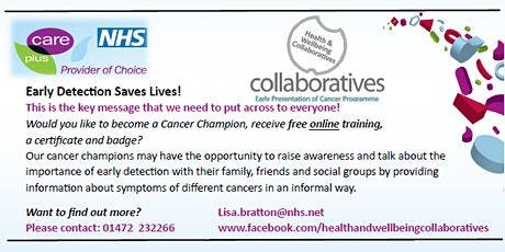 Cancer Champions Training tickets