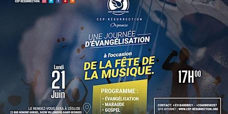 UNE JOURNÉE D'ÉVANGÉLISATION billets