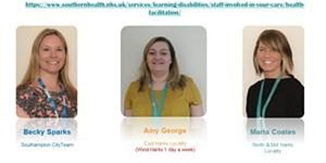 Learning Disability Update Training tickets