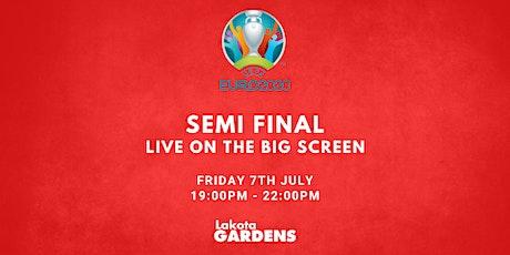 EUROS 2021: Semi Final #2 tickets