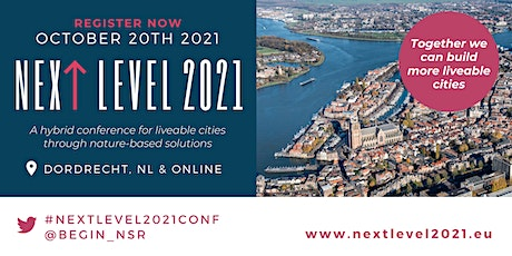 NEXT LEVEL 2021 Conference for Liveable Cities (in-person) tickets