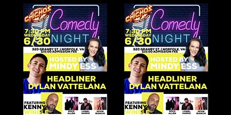 Chicho's Backstage Comedy Night tickets