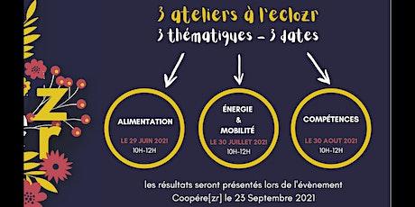Atelier Coopére[zr] : ALIMENTATION billets