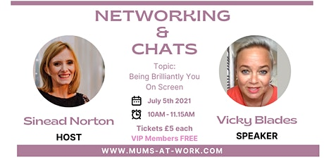 Networking & Chat with Vicky Blades tickets
