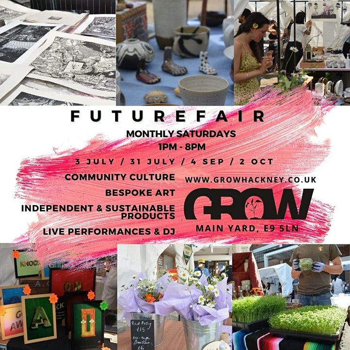 Future Fair Eco Market in Grow's Yard, Hackney Wick image