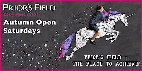 Prior's Field Autumn Open Saturdays tickets