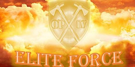OPIV Elite Force tickets