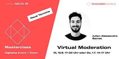 Masterclass: Virtual Moderation Tickets