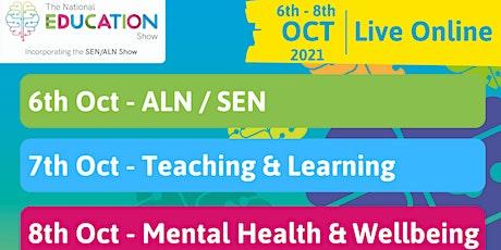 National Education Show 2021 - Live Online 3 Day Show biglietti