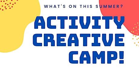 Activity Creative Camp tickets