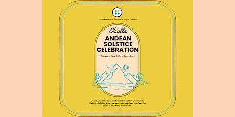 Ch'alla Andean Solstice Celebration tickets