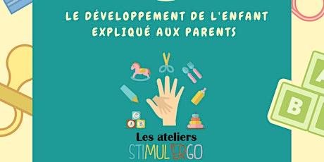 Atelier Stimul'ergo 6-18 mois billets