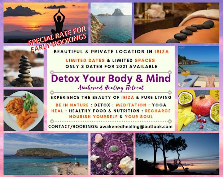 Detox Your Body & Mind - Awakened Healing Retreat image