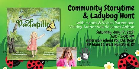 Padapillo: Community Storytime & Ladybug Hunt tickets