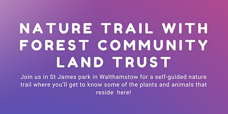 Nature Trail With Forest Community Land Trust tickets