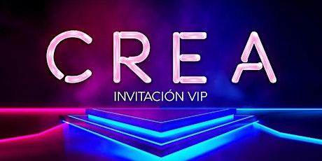 CREA Show - VIP entradas