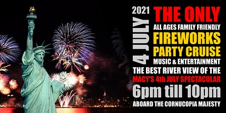 All Ages Independence Day Macy's 4th of July Spectacular Fireworks Cruise tickets