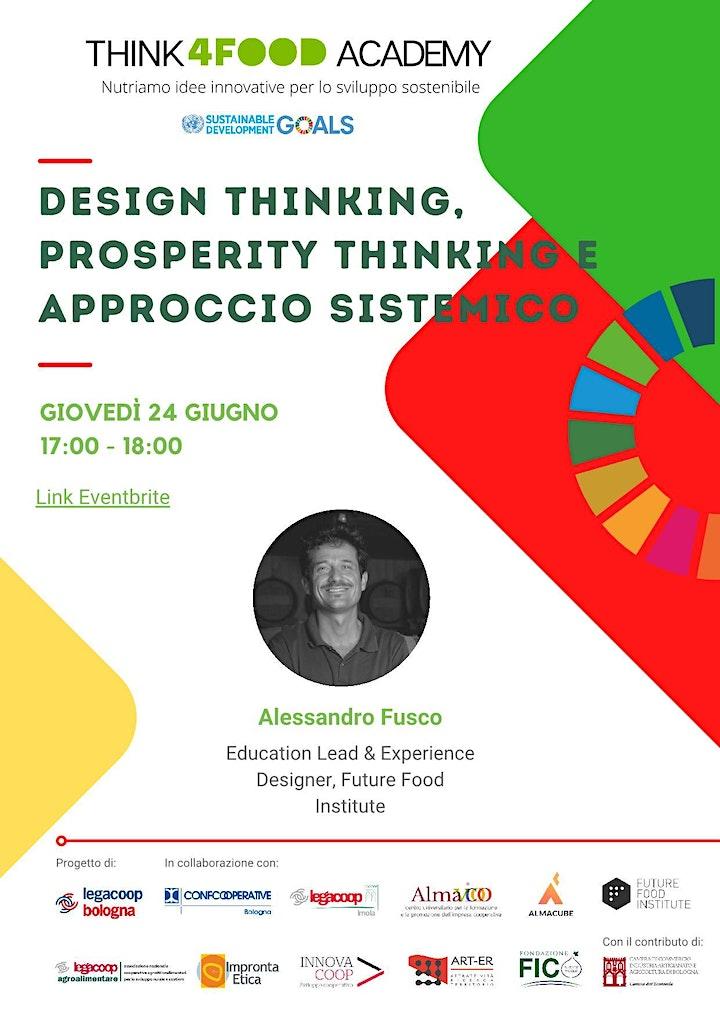 Immagine Design Thinking, prosperity thinking e approccio sistemico - 24 giu ore 17