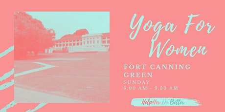 Yoga For Women @ Fort Canning Green tickets