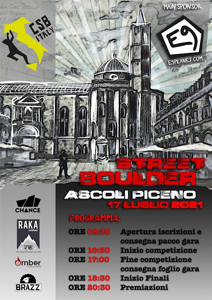 Immagine Street Boulder Ascoli Piceno