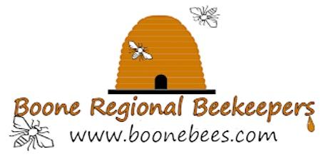 June: Boone Regional Beekeepers - honey extracting demonstration tickets