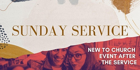11:00am Service with New to Church Event after the service (4th July) tickets
