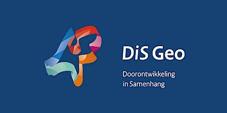 DiS Online 14 september: SPOTinfo, geodata combineren in de praktijk tickets