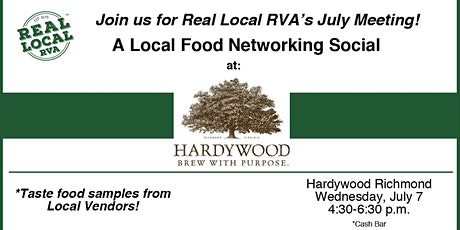 Real Local RVA's July Meeting tickets