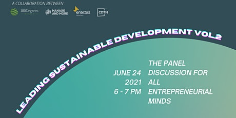 Leading Sustainable Development - Panel Discussion tickets