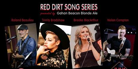 Red Dirt Song Series- July 14th $25 tickets