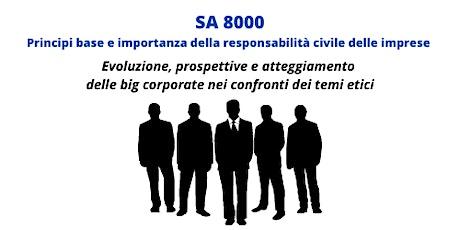 SA 8000: principi base della responsabilità civile delle imprese boletos