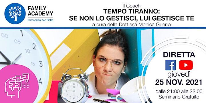 Immagine TEMPO TIRANNO: SE NON LO GESTISCI, LUI GESTISCE TE!