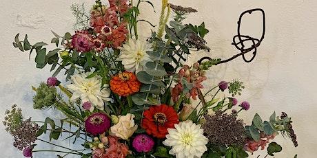 Summer Centerpiece - with local garden flowers tickets