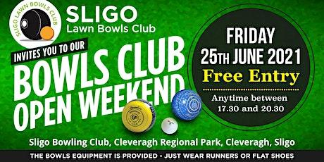 Sligo Lawn Bowls Open Day tickets