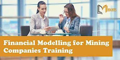 Financial Modelling for Mining Companies 4 Days Training in San Luis Potosi boletos