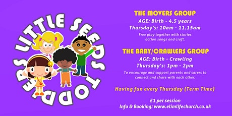 Little Seeds Toddler Group | The Movers Group tickets