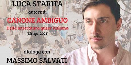 Palin Magazine presenta: Luca Starita, dialogo con Massimo Salvati biglietti