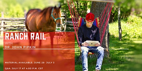 AQHA Virtual Seminar: Equitation with Dr. John  Pipkin tickets