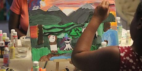 Unicorn & Frames Wonderland painting workshop | NYC | Central Park|$35 tickets
