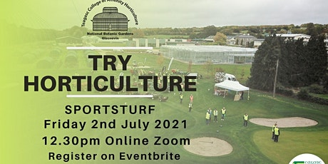 Try Horticulture - Sports Turf tickets