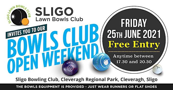Sligo Lawn Bowls Open Day image