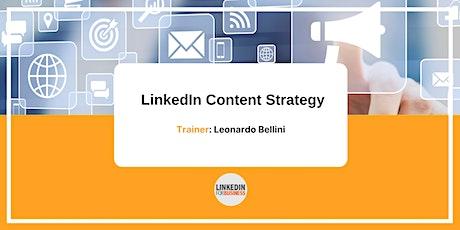 LinkedIn Content Strategy biglietti