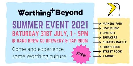 Worthing & Beyond Summer Event 2021 tickets
