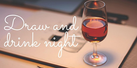 Draw and Drink Night [Virtual] tickets